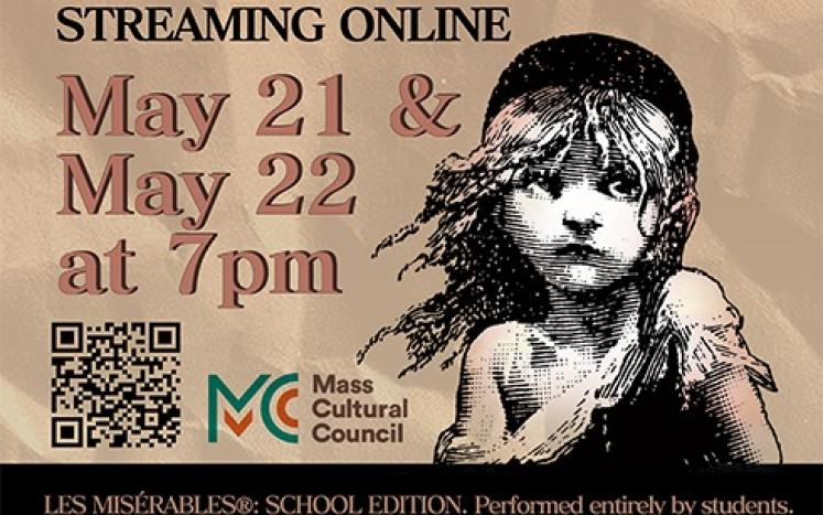 BHS Theater presents Les Miserables: School Edition- streaming on May 21-22 at 7pm