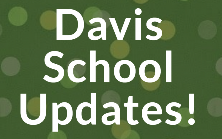 link to Davis School updates website